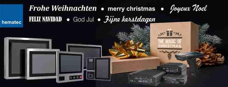 Weihnachtsgrüße hematec