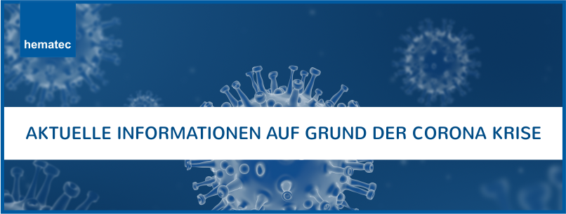 Kundeninformationen Corona Virus