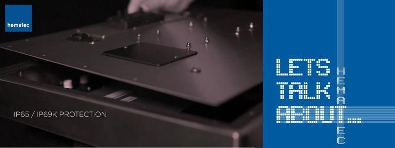 hematec Panel-PCs - auch die äußeren Werte zählen!